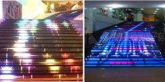 楼梯LED显示屏方案
