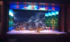 沈阳北陵军人俱乐部 VC05LED显示屏220平方米