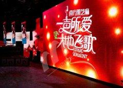 广西电视台RI05、M12LED显示屏365平方米