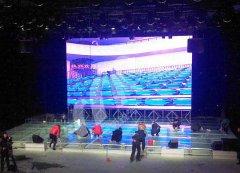 辽宁葫芦岛电视台66平方米室内V06压铸铝